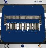 Alta impronta efficiente della gomma che cura pressa con il sistema di controllo del PLC