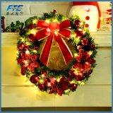 guirlande artificielle de guirlande de Noël de 40cm avec des cônes de pin