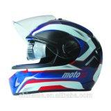 대중적인 다채로운 두 배 챙 굵은 활자 헬멧