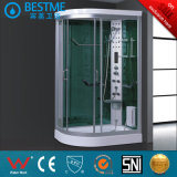 フォーシャンのサウナ(BZ-807)の熱い販売OEMの蒸気のシャワー室