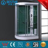 サウナ(BZ-807)の熱い販売OEMの蒸気のシャワー室