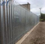 3 Meter hoch - dreifaches spitzes galvanisiertes Sicherheitpalisade-Fechten