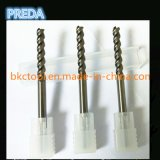 Polido China Tool Corner Radius Mill Cutter para alumínio