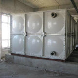 Réservoir sectionnel carré de la mémoire FRP de l'eau de panneau de GRP SMC
