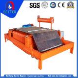 Mineral de la serie de Rcdf de la certificación del Ce/separador magnéticos autolimpiadores de la explotación minera para la eliminación del hierro