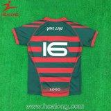 OEM Sublimation Homme Vêtements de sport New Design Team Rugby Jersey