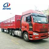 El ganado del árbol de la marca de fábrica 3 de Aotong salva el acoplado del carro de la cerca de la casa