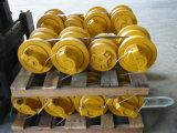Exkavator-Fahrgestell zerteilt Spur-Rolle/untere Rolle für Aufbau-Maschinerie-Gleiskettenfahrzeug-Teile