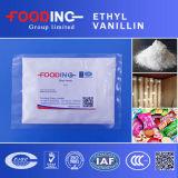 EthylVanilline 99.5% van de Vanilline van het voedsel Smaakstof Gepoederde