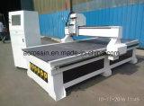 Des hohe Präzisions-Ausschnitt-Holz-/Metall/Acrylic/PVC Hyrid Servolaufwerk-Doppelt-Schrauben-Stich CNC-Fräser-Maschine