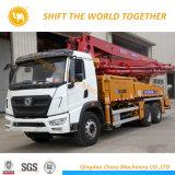 XCMGのブランド6X4 48mは具体的なポンプトラックをトラック取付けた