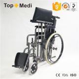 ثقيلة - واجب رسم ألومنيوم كرسيّ ذو عجلات يدويّة مع [لودينغ] قدرة [150كغ]