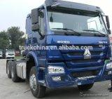 Sinotrukのブランド10のタイヤのトラクターヘッド/トレーラーのヘッドトラック