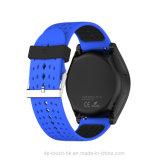 Le téléphone intelligent de vente de montre de Bluetooth chaud le plus neuf avec l'appareil-photo W9