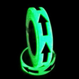 安全指導のためのテープを見つける暗いPhotoluminescent方法で光る4時間