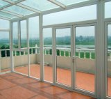 Тепловой вырваться из алюминия окна с двойным закаленного стекла