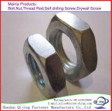 Acier inoxydable mince Hex d'acier du carbone de la noix DIN936