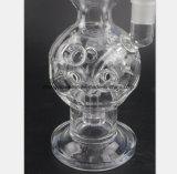 Tuyaux d'eau en verre transparent pour le filtre la fumée de tabac les tuyaux de récupération