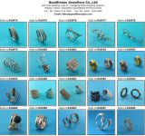 925 кец стерлингового серебра для женщин, высокого Polished кольца R10571