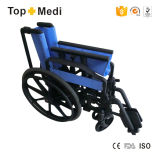 Cadeira de rodas plástica ambiental manual Foldable de Topmedi
