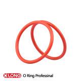 Giunto circolare personalizzato della gomma del puntello NBR di colore rosso 60