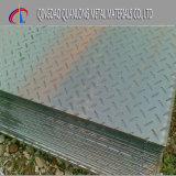 Placa densamente Chequered suave do aço 6mm do ferro da hora