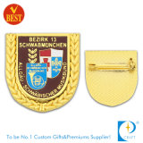 Изготовленный на заказ значок сувенира металла золота с мягкой эмалью (JN-B29)