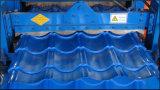 Rolo da folha do telhado de telha da etapa que dá forma à máquina
