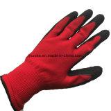 Работа с другой стороны защиты задания покрытие из латекса перчатки для работы в саду