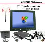 Moniteur d'écran LCD à écran tactile de 8 po