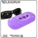 Cassa degli occhiali del contenitore di occhiali da sole del metallo di qualità della cassa degli occhiali del metallo per i vetri degli occhiali di protezione del pattino degli occhiali di protezione di immersione subacquea Clip-su (HX223)