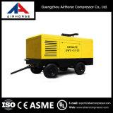 Compresor de aire de tornillo impulsado por motor diesel portátil 212-1130cfm