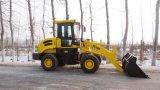 De hydraulische MiniLader van het Wiel, de Lader van het Wiel 1600kg