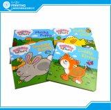 Impression polychrome de livre de puzzle d'enfants