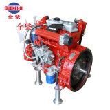 Motor diesel del movimiento de QC380d 10kw 1500rpm cuatro para el generador