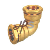 HDPE PVC Pipe H834를 위한 유럽 Standard Brass Compression Fitting
