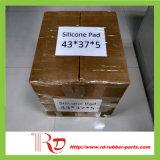 Rilievi del silicone 43*37*5/strato di gomma con lo Shorea di durezza 40
