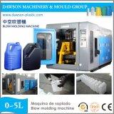 HDPE automatique de machine de soufflage de corps creux d'extrusion de bouteille détergente
