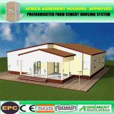 Mit drei Schlafzimmern vorfabrizierte modulare Häuser/Fertighaus/verwendete bewegliche Toilette