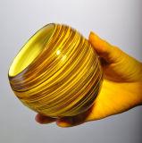 Spätester Strudel farbiger Glashalter der kerze-2018