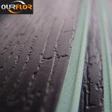 WPC Cliquez sur les planches de revêtement de vinyle / sol en vinyle avec entrelacement / revêtement mural / mur