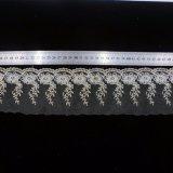 Vestiti solubili in acqua del filato del ricamo del merletto dell'indumento della tessile netta degli accessori