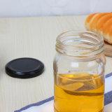明確なガラス蜂蜜のびん500ml