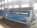 Máquina de rolamento hidráulica da placa da máquina de rolamento da placa de quatro rolos com a máquina de dobra da folha do CNC de 4 rolos
