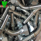 ステンレス鋼の油圧適切なホースを製造するCNC 74度の円錐形のシールのJicの付属品