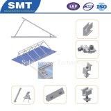 Простая установка алюминиевого 6005 регулируемый кронштейн для крепления панели солнечных батарей в