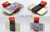 Sostenedor portable del teléfono del volante del coche para la galaxia más S6 LG HTC de Samsung del iPhone 6