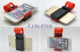 iPhone 6 Plus Samsung Galaxy S6 LG HTCのための携帯用Car Steering Wheel Phone Holder
