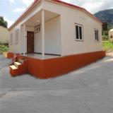 Casa de painel de acampamento pré-fabricada casa do sanduíche do toalete