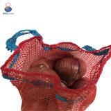 sac de maille de Raschel de rouge de 50*80cm